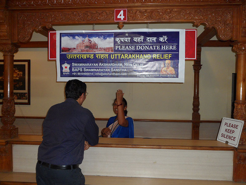 Information and Donation Counters, June 29