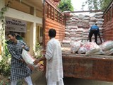 Relief materials reach Uttarakhand,  30 June 2013