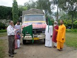 Relief supplies being despatched for Uttarkashi, July 13