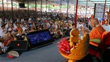 Swamishri blesses Guru Purnima assembly in Bochasan via video conference
