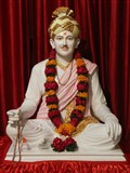 Brahmaswarup Bhagatji Maharaj - Murti to be consecrated in Guru-Parampara shrine at Shri Yagnapurush Smruti Mandir, Sarangpur