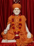 Brahmaswarup Yogiji Maharaj - Murti to be consecrated in Guru-Parampara shrine at Shri Yagnapurush Smruti Mandir, Sarangpur