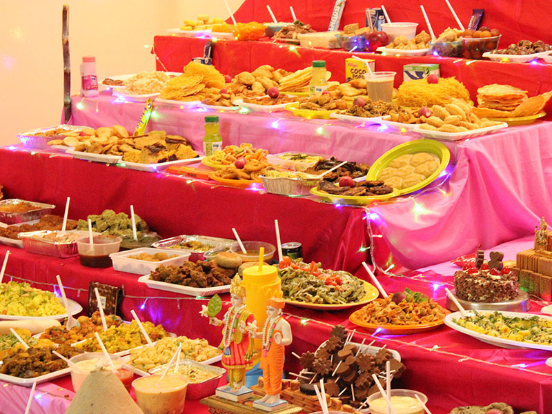 Annakut Celebration, Abu Dhabi
