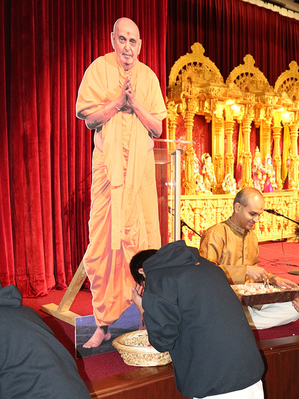 Pramukh Swami Maharaj's 93rd Birthday Celebration, Robbinsville, NJ