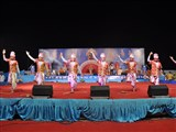 Pramukh Swami Maharaj's 93rd Birthday Celebration, Chansad - a folk dance by youths