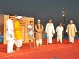 Pramukh Swami Maharaj's 93rd Birthday Celebration, Chansad - a skit by youths
