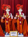 Murtis to be consecrated at new BAPS Shri Swaminarayan Mandir, Ambheta (Surat)