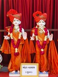 Murtis to be consecrated at new BAPS Shri Swaminarayan Mandir, Mota Varachha (Surat)