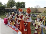 Murtis to be consecrated at new BAPS Shri Swaminarayan Mandir at Columbia, TN, USA