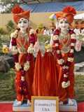 Bhagwan Swaminarayan and Aksharbrahman Gunatitanand Swami for Columbia, TN, USA