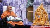 Symbolic celebration of Shri Swaminarayan Jayanti