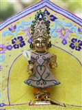 Shri Harikrishna Maharaj adorned in chandan