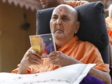Swamishri inaugurates a new audio publication 'Nityagan'