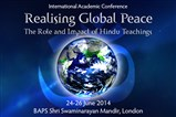 Conference on Global Peace and Hindu Teachings