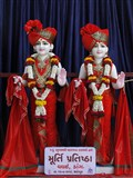 Murtis to be consecrated at new BAPS Shri Swaminarayan Mandir, Vaghai (Dang), India