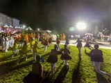 Youths welcome Swamishri with a dance