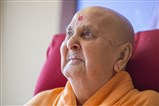 Swamishri in a divine mood