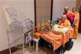 Swamishri sanctifies Gharmandir murtis and daily pooja