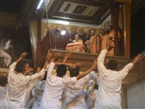 Youths rejoice before Swamishri