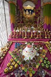 Annakut offered to Shri Varninath Dev and Shri Gopinath Dev