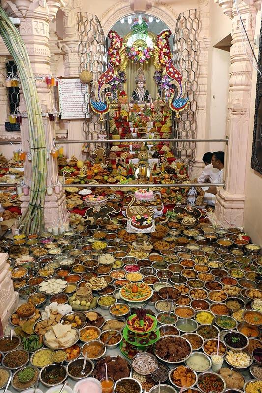 Surendranagar India  city images : Annakut Celebrations 2014, Surendranagar, India
