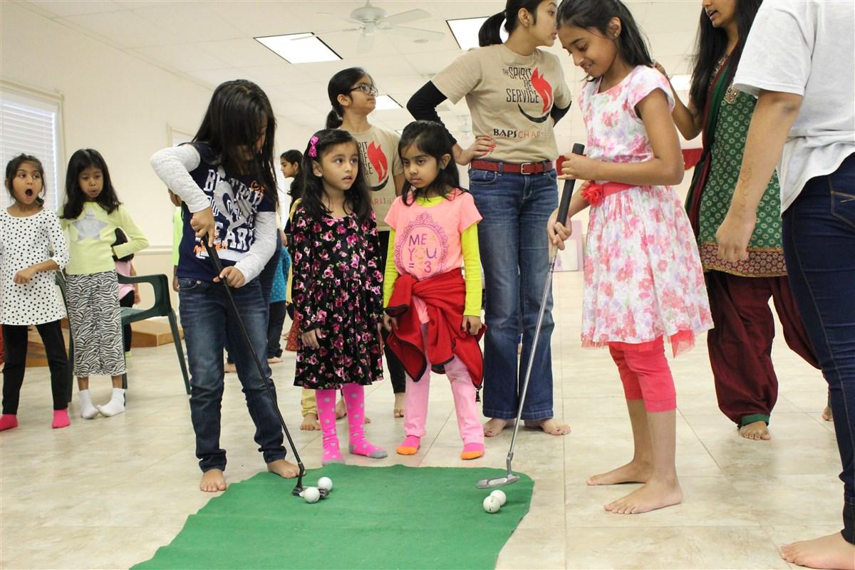 Kids Diwali Celebration 2014 San Antonio Tx Usa