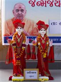 Murtis to be consecrated for New BAPS Shri Swaminarayan Mandir, Ariyana, Surat