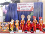 Murtis to be consecrated at new BAPS Shri Swaminarayan Mandirs, Ranpur (Sarangpur) and Rajpardi (Bharuch), India