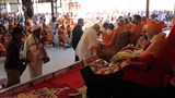 Swamishri blesses devotees from Shastriji Maharaj's time