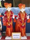 Murtis to be consecrated for BAPS Shri Swaminarayan Mandir, Dothan, AL, USA