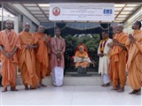 Inauguration of new Sanskrit course at BAPS Swaminarayan Sanskrit Mahavidylaya, Sarangpur
