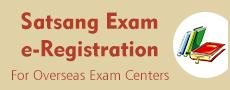 Satsang Exam e-Registration