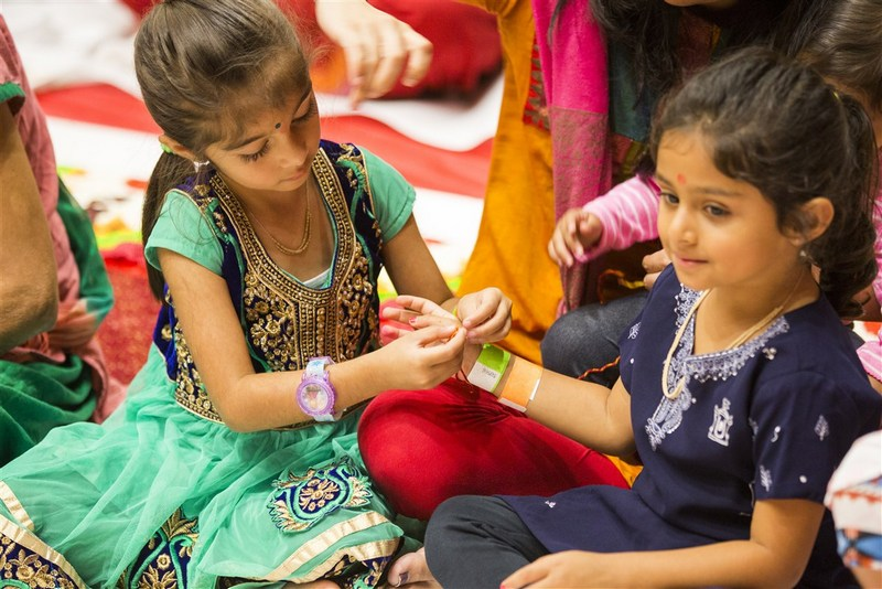 BAPS Kids' Diwali Celebration