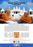 His Holiness Mahant Swami Maharaj in USA & CANADA
