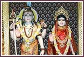 Shri Shiv Parvati and Shri Ganeshji