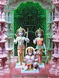 Shri Sita-Ram Dev and Shri Hanumanji