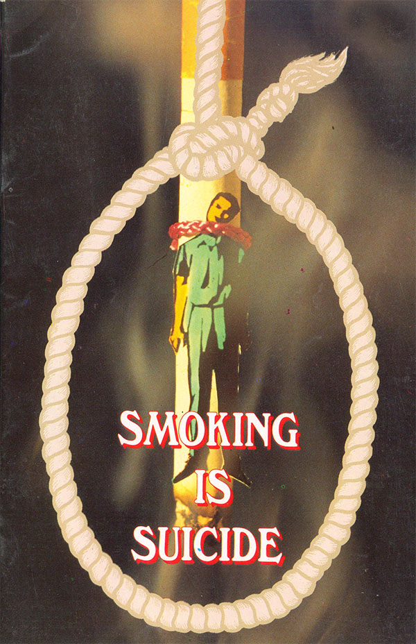 is smoking suicide Dear mike: my 13-year-old niece told me that she has been depressed for three years and thought about suicide a year ago she won't let me tell her parents.