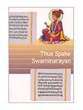 Thus Spake Swaminarayan