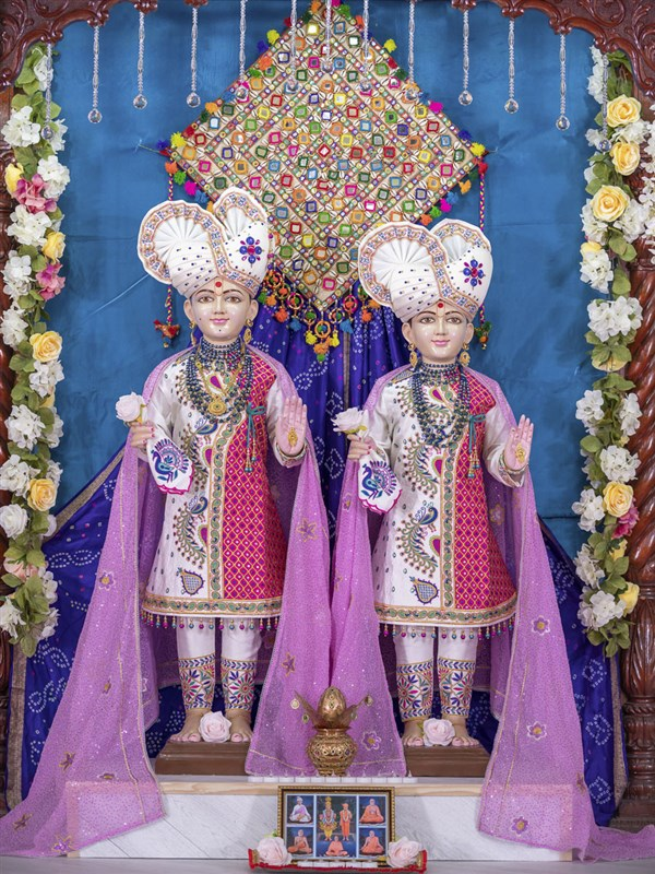 Bhagwan Swaminarayan and Aksharbrahma Gunatitanand Swami