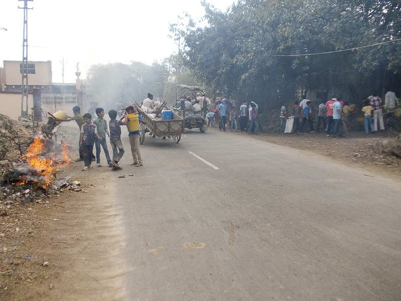 BAPS Cleanliness Drive, Lodhva