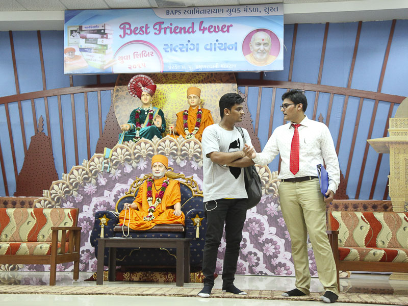 Yuva Shibirs: Best Friends Forever - Books, Surat