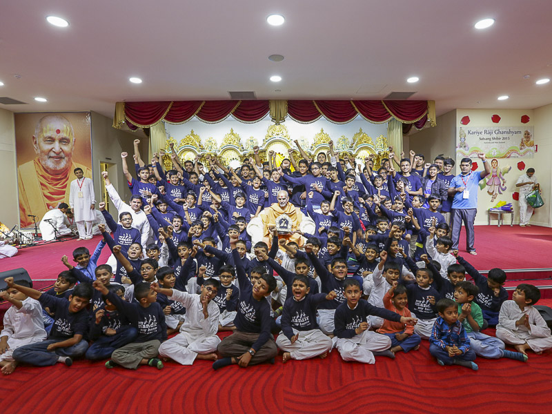 My Mandir My Home - children's shibir