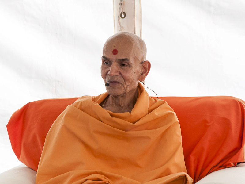 Pujya Mahant Swami addresses the 'My Mandir, My Home'- Bal-Balika Shibir, Perth