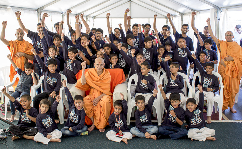 'My Mandir, My Home'- Bal-Balika Shibir, Perth