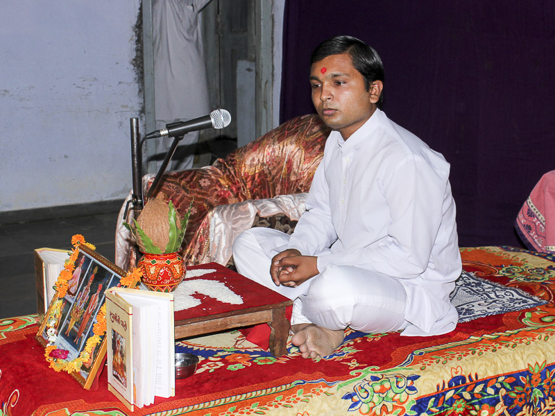 'Sanskruti' Yuva Parayan during the auspicious month of Shravan, Khambhat