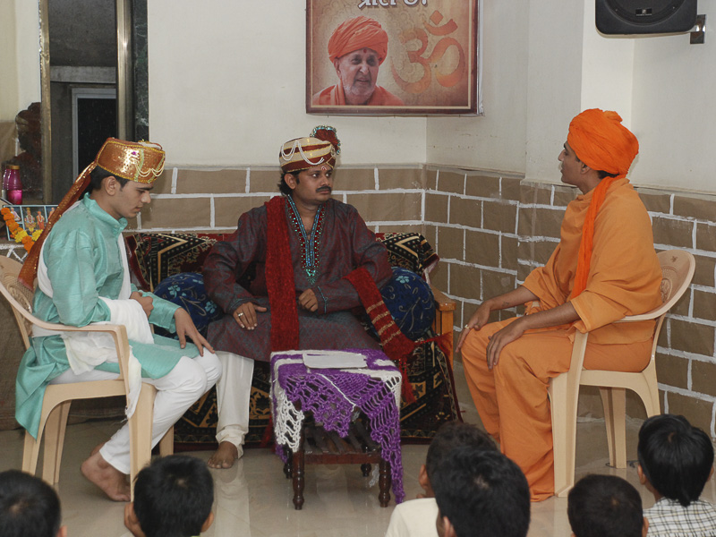 'Sanskruti' Yuva Parayan during the auspicious month of Shravan, Surat