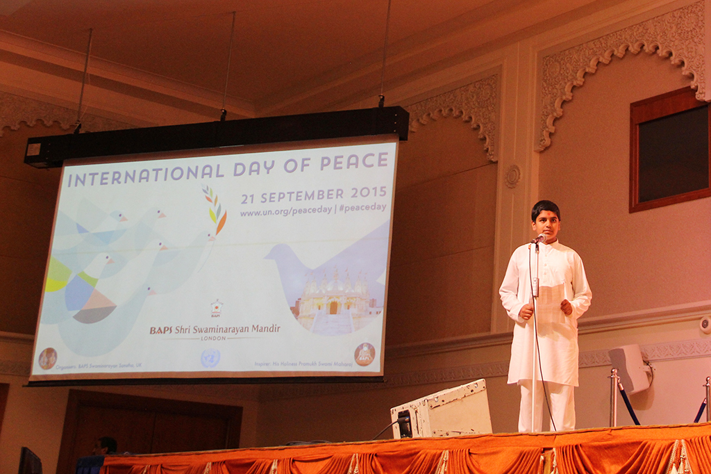 Observing International Peace Day