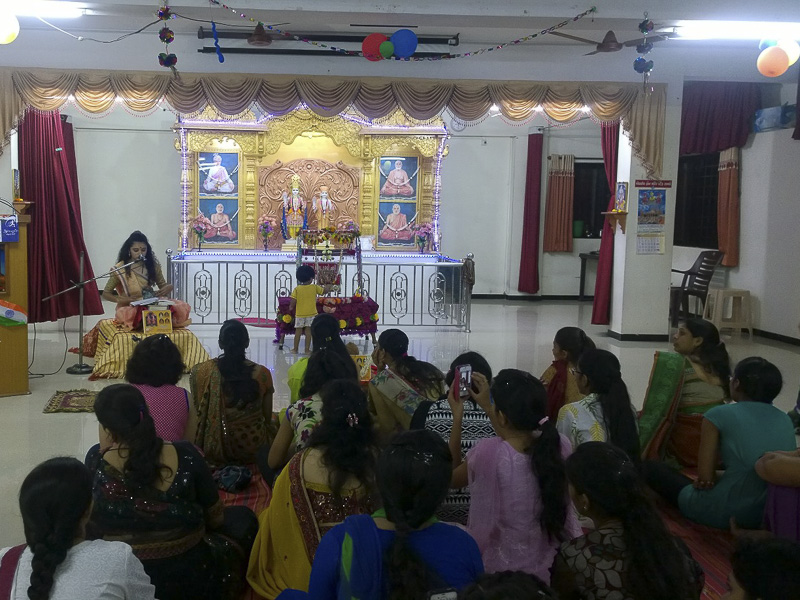 'Sanskruti' Yuvati Parayan during the auspicious month of Shravan, Atladra (Vadodara)