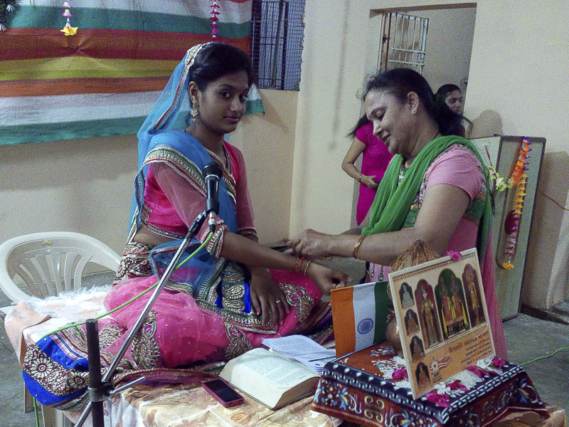 'Sanskruti' Yuvati Parayan during the auspicious month of Shravan, Vallabh Vidyanagar