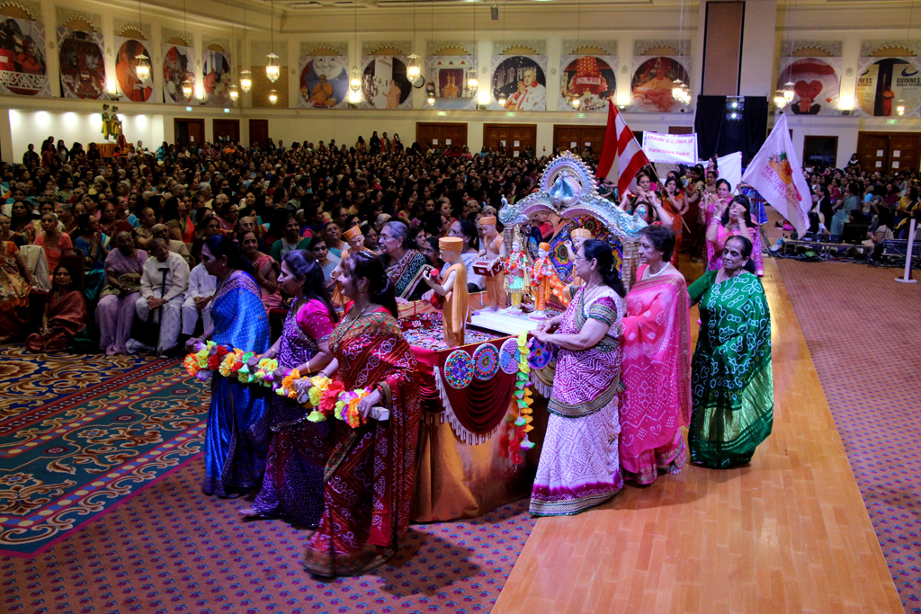 London Mandir 20th Anniversary: Finale Mahila Celebrations, London, UK